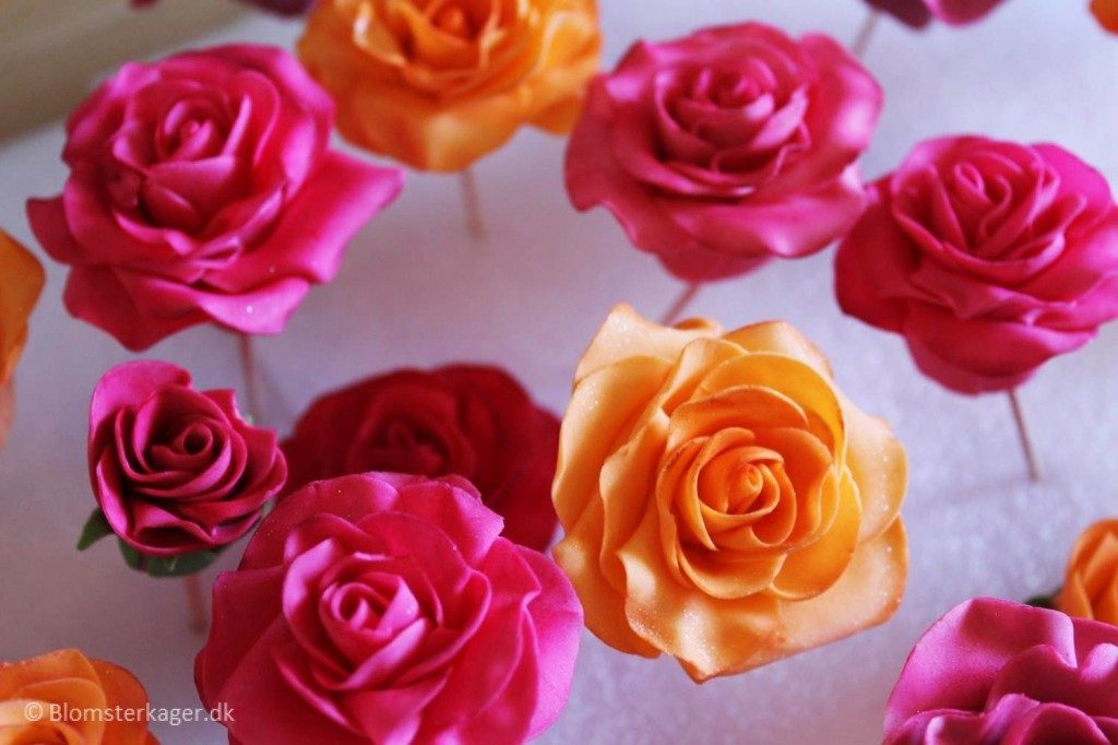 how to make fondant roses for wedding cakes how to make a fondant gum paste 15942