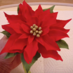 Poinsettia video tutorial by