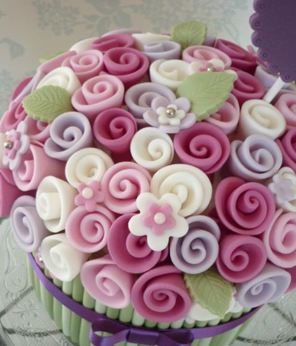 gum paste roses instructions