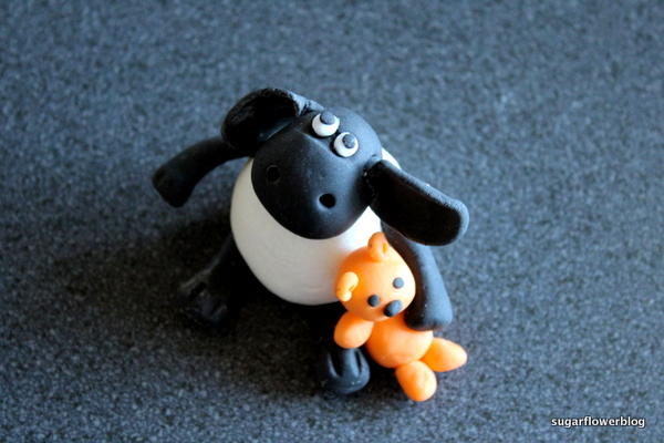 Timmy sheep fondant