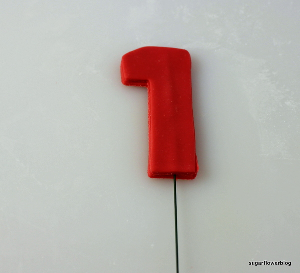 number fondant